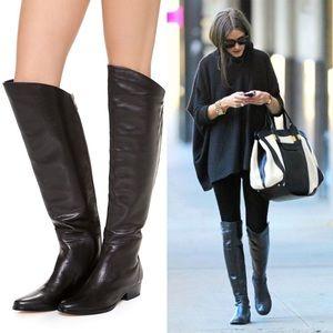 Dolce Vita Tall Black Over The Knee Boots 'Daroda'